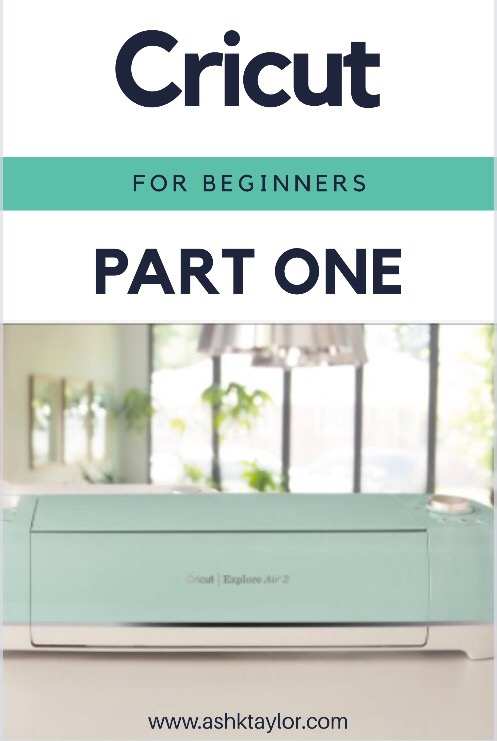 cricut for beginners part one just ash. Black Bedroom Furniture Sets. Home Design Ideas